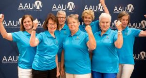 Members of the 2017-18 AAUW National Student Advisory Council (SAC)
